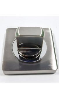 Накладка WC-фиксатор AJAX BK6 JK SN/CP-3 матовый никель/хром