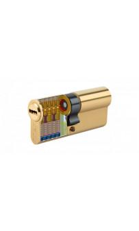 Цилиндр латунный KALE 164 BNE 90 (40/10/40) к/к (SN)