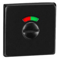 Накладка WC-фиксатор с индикатором MVM T12i Black черный