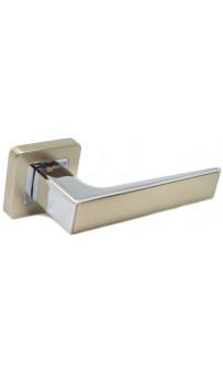 Дверная ручка Safita 730 R40 MSN-CP мат.никель/хром
