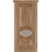 Двери Модель 55 Каро Терминус дуб даймонд со стеклом 02-27Т