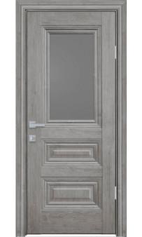 Межкомнатная дверь Камилла со стеклом ЭкоВуд Новый стиль