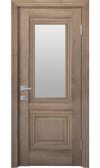 Межкомнатная дверь Канна со стеклом ЭкоВуд Новый стиль