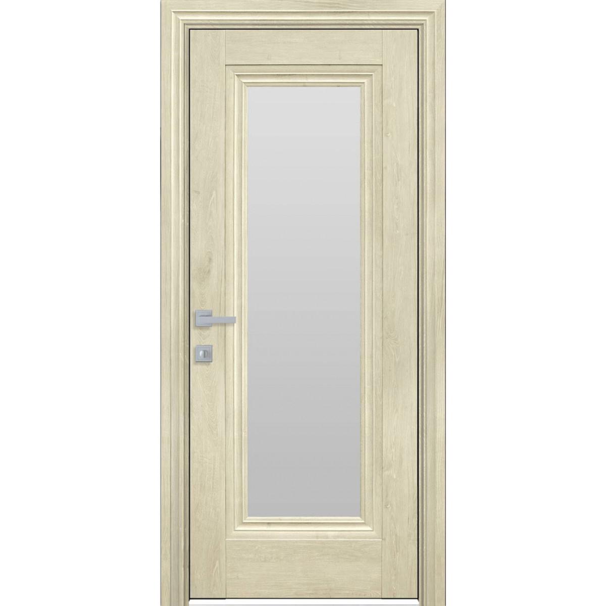 Межкомнатная дверь Милла со стеклом глухая ЭкоВуд Новый стиль
