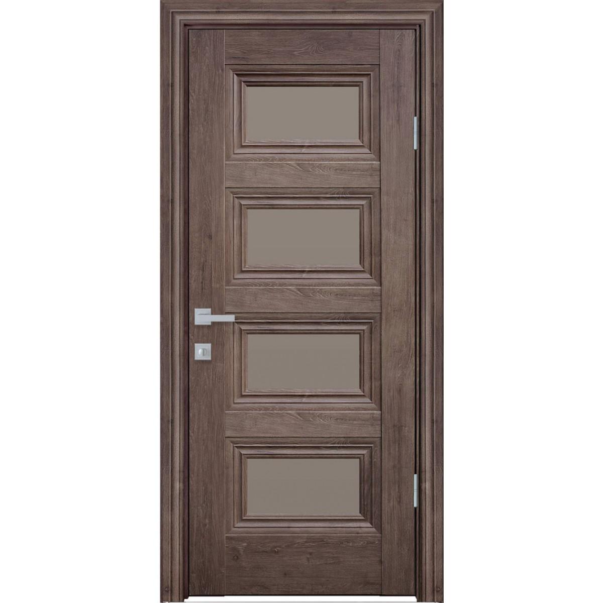 Межкомнатная дверь Тесса со стеклом ЭкоВуд Новый стиль