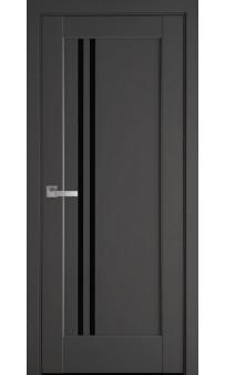 Межкомнатная дверь Делла BLK ПП Premium Новый стиль