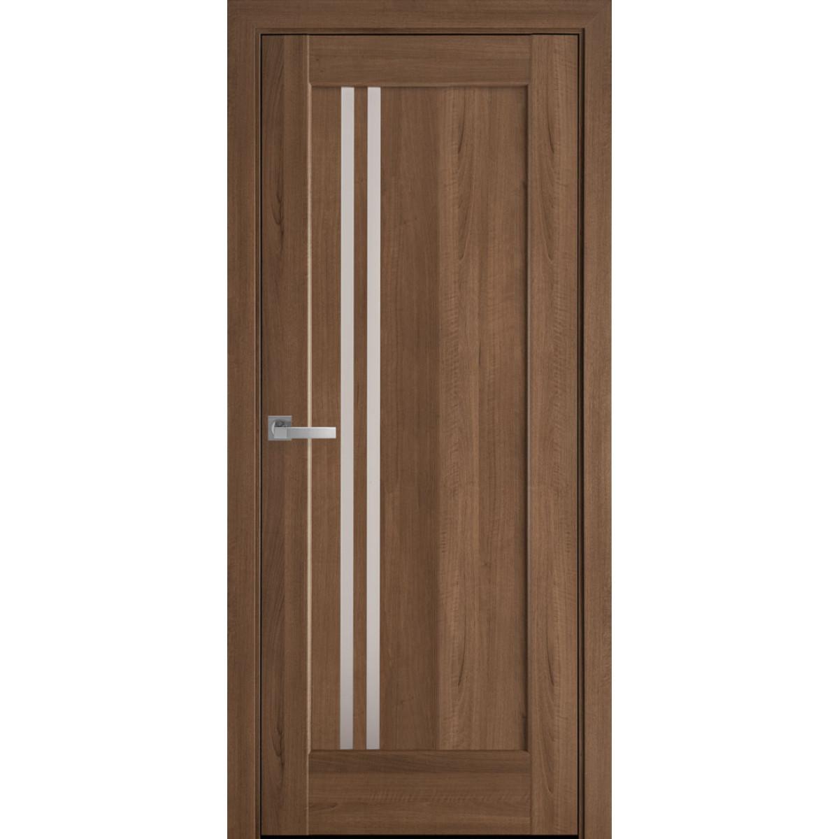 Межкомнатная дверь Делла золотая ольха ПВХ Новый стиль