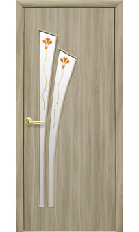 Межкомнатная дверь Лилия Р1 экошпон Новый стиль