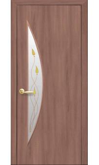 Межкомнатная дверь Луна экошпон Новый стиль