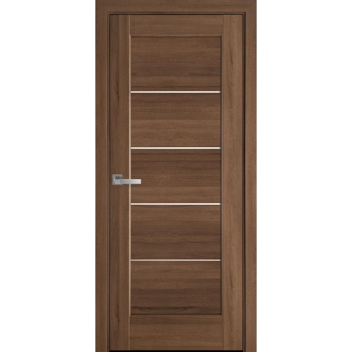 Межкомнатная дверь Мира золотая ольха ПВХ Новый стиль
