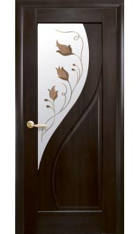 Межкомнатная дверь Прима Р1 ПВХ Новый стиль
