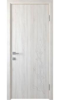 Межкомнатная дверь Сакура ПВХ Новый стиль