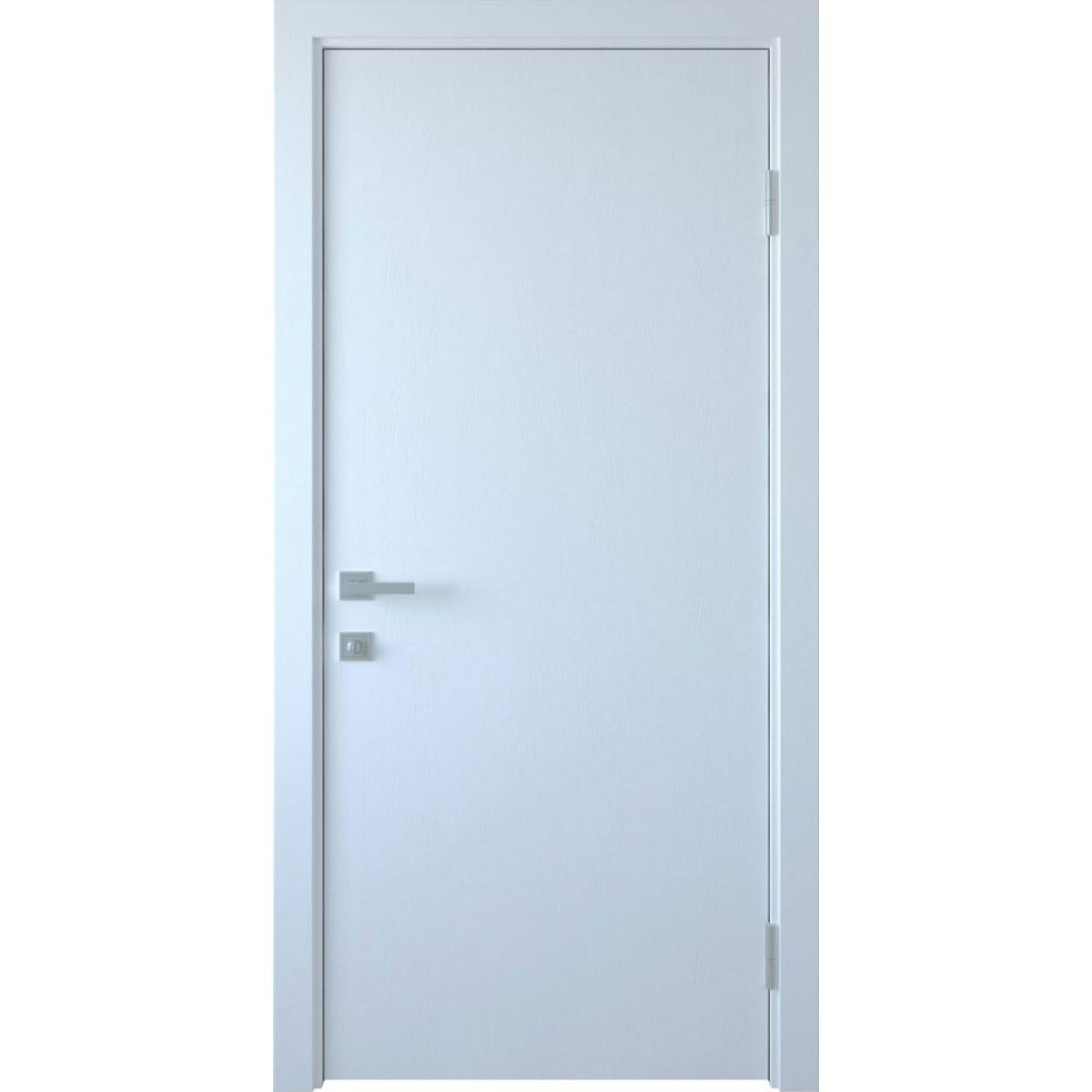 Межкомнатная дверь Стандарт ПП Premium белый мат. Новый стиль