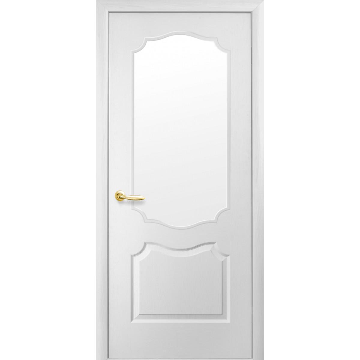 Межкомнатная дверь Вензель под покраску со стеклом Новый стиль