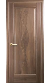 Межкомнатная дверь Волна глухая GR ПВХ Новый стиль
