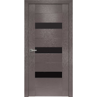 Межкомнатная дверь Вена BLK  ПВХ Шолк Новый стиль