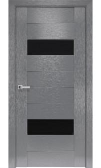 Межкомнатная дверь Женева BLK  ПВХ Шолк Новый стиль