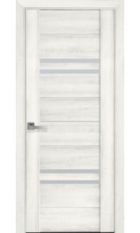 Межкомнатная дверь Мерида ясень NEW ПВХ Viva Новый стиль