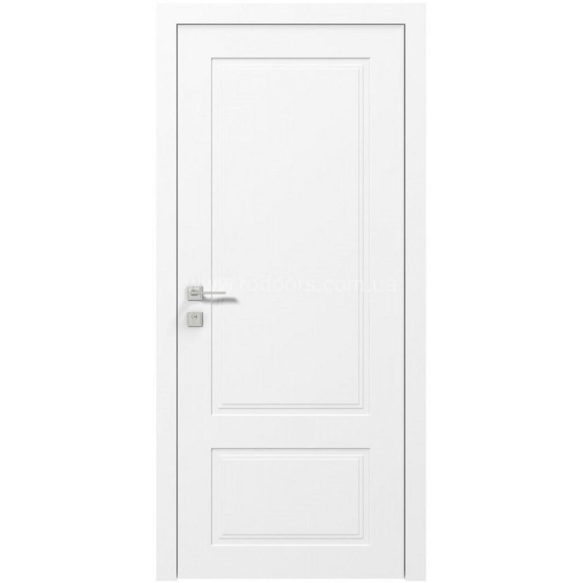 Межкомнатная дверь Cortes Galant белый мат Rodos