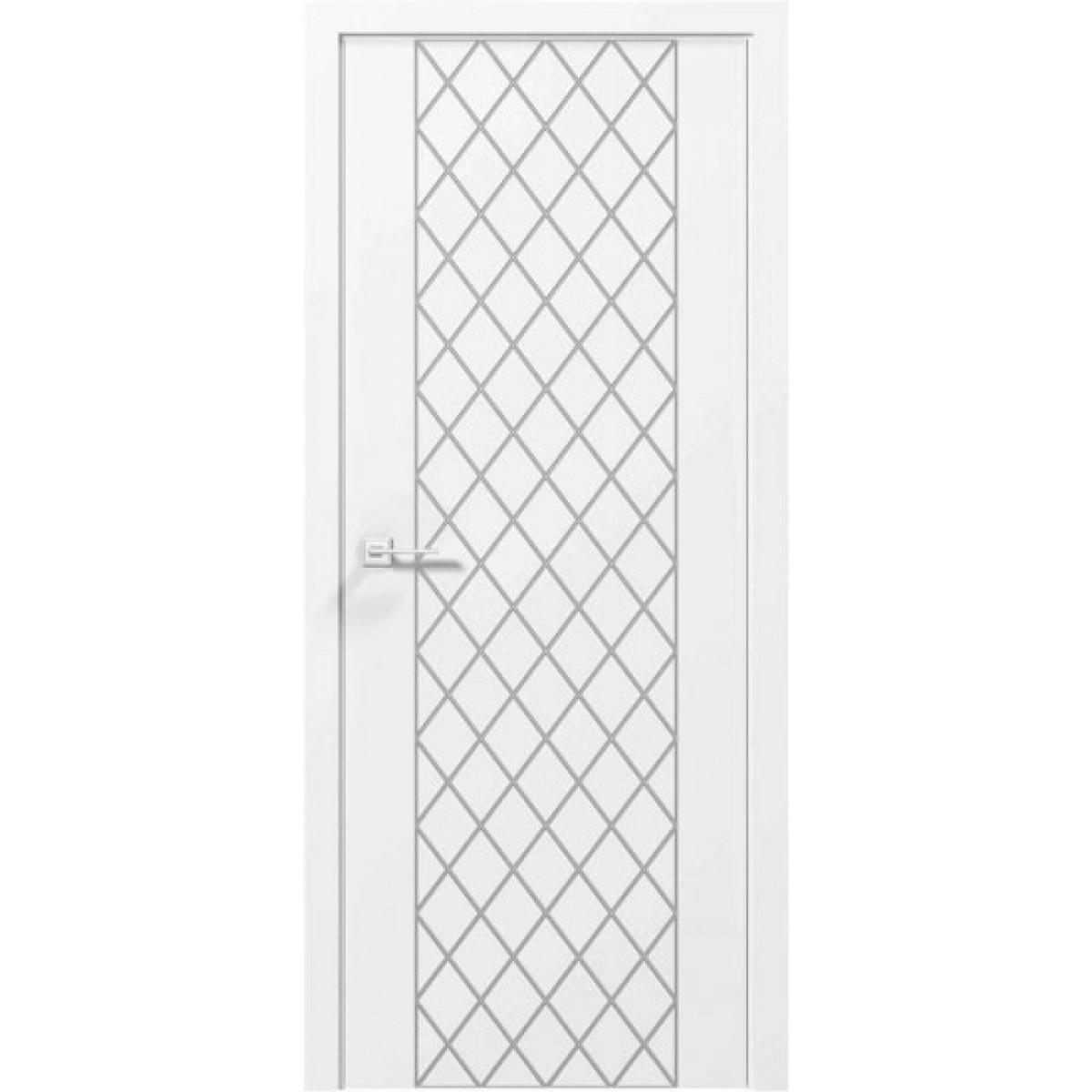 Межкомнатная дверь Cortes Tango белый мат Rodos