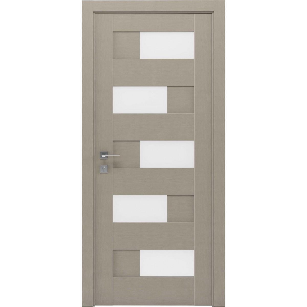 Межкомнатная дверь Modern Verona полустекло Rodos