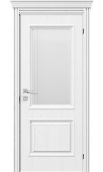 Межкомнатная дверь Royal Avalon полустекло рис.6 Rodos