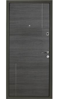 Входная дверь Цитадель К-4 мод. 111 венге горизонт серый