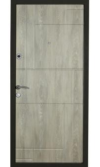 Входная дверь Цитадель К-4 мод. 166 дуб шале графит / дуб шале седой