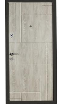 Входная дверь Цитадель К-6 мод. 166 дуб шале графит / дуб шале седой