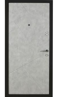 Входная дверь Цитадель К-6 мод. 171 бетон темный / бетон серый