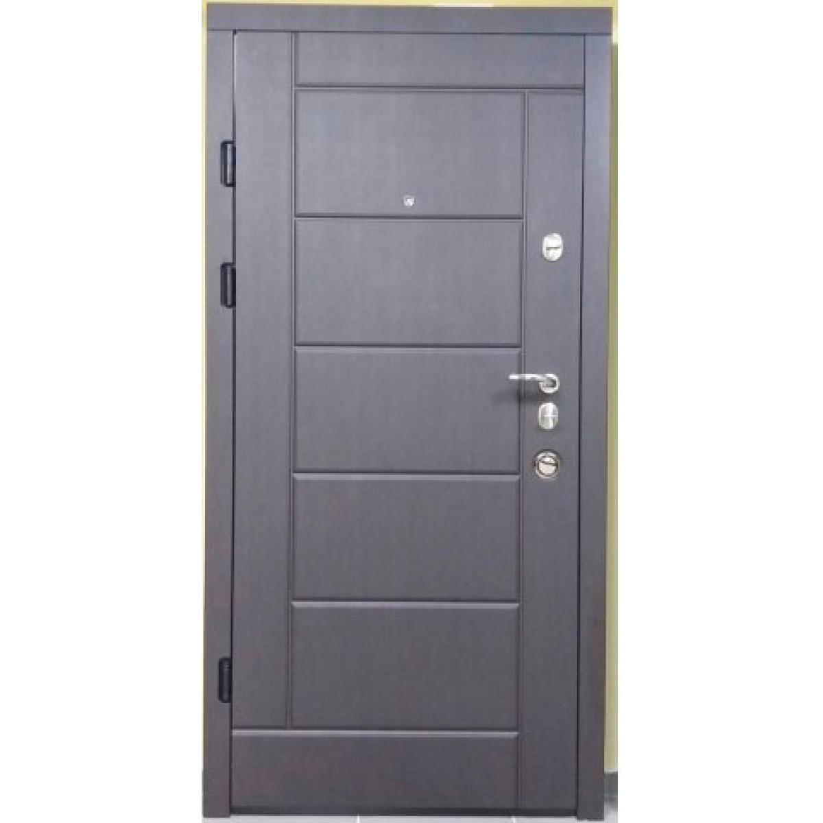 Входная дверь Magda Тип 2 Модель 116 Венге темный/ Сосна прованс