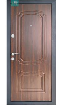Входная дверь ПО-01 орех коньчяный
