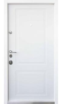 Входная дверь QDOORS Авангард Трино дуб графит / белый супермат