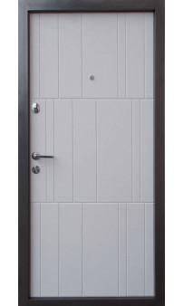 Входная дверь QDOORS Премиум Арт бетон графит /бетон крем
