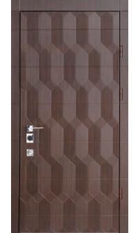 Входная дверь Straj Антрацит 3D