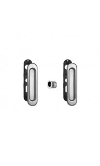 AGB Art. B019270030 KIT F1 Комплект ручек на раздв дверь+ручка д/вытяг двери хром