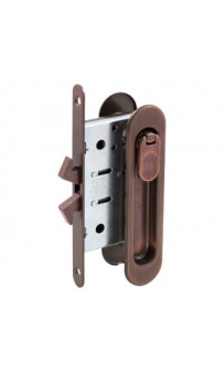 AGB Art. B029235022 KIT C Ручка на раздв дверь+механизм вж ант. бронза