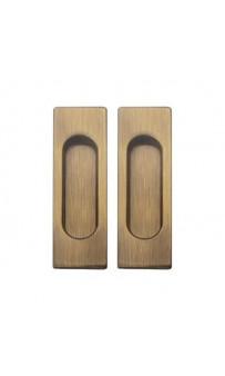 Ручка на раздв. дверь Fimet 3663AC F03 мат бронза (комплект)
