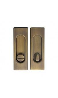 Ручка на раздв. дверь Fimet 3663AR F03 мат бронза (комплект)