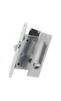 Ручка на раздв. дверь Fimet 3663AR F05+LOCK+MQ мат хром (комплект)