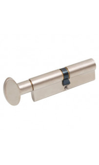 Цилиндр Mgserrature 45/45P = 90mm кл/ручка мат никель     5 ключей