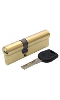 Цилиндр дверной Вruno Security 35/55мм лаз. 90мм 5кл латунь