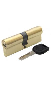 Цилиндр дверной Вruno Security 40/40мм лаз. 80мм 5кл латунь