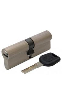Цилиндр дверной Вruno Security 40/40мм лаз. 80мм 5кл никель