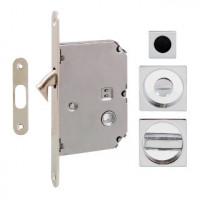 Ручка на раздвижную дверь Fimet 3667R, хром (комплект wc)