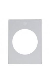 Декоративная накладка Securemme, прямоугольная, хром матовый