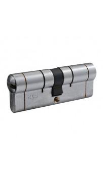 Цилиндр Securemme 361BCCS4040115 K64, 40/40 мм, 5ключей, +1 + 1 ключ, матовый хром