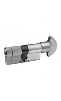 Цилиндр Securemme 3220PCS30301X5 К22, 30/30 мм, 5ключей, монтажный ключ/ручка, матовый хром