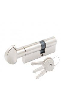 Цилиндр Cortelezzi 117F 30x40 ключ/поворот. никель