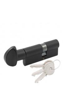Цилиндр Cortelezzi 117F 30x40 ключ/поворот. черный